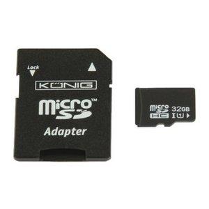 König microSDXC Geheugenkaart Klasse UHS-I 64 GB