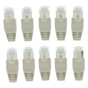 König Connector RJ45 Solid UTP CAT5 Male Grijs