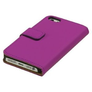 König Smartphone Wallet-book Galaxy S5 Imitatieleer Roze