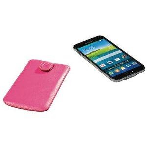 König Smartphone Insteekhoes XXXL Imitatieleer Roze