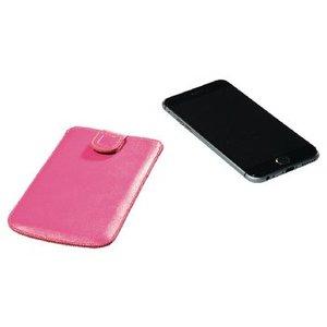 König Smartphone Insteekhoes XXL Imitatieleer Roze