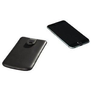 König Smartphone Insteekhoes XXL Imitatieleer Zwart