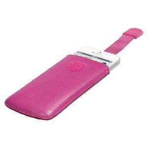 König Smartphone Insteekhoes S Imitatieleer Roze