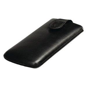 König Smartphone Insteekhoes S Imitatieleer Zwart