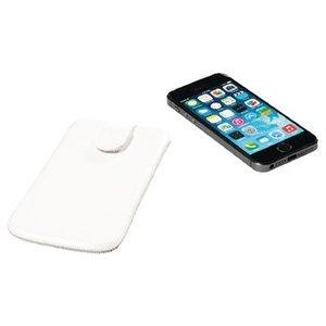 König Smartphone Insteekhoes M-L Imitatieleer Wit