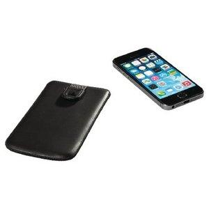 König Smartphone Insteekhoes M-L Imitatieleer Zwart