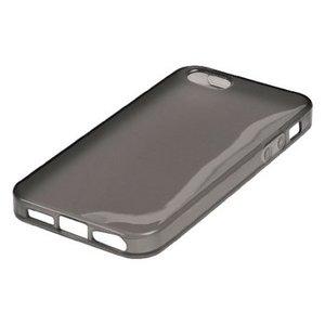 König Smartphone Gel-case iPhone 6 / 6s Plus Imitatieleer Zwart