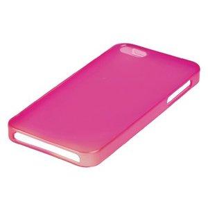 König Smartphone Gel-case iPhone 6 / 6s Imitatieleer Roze