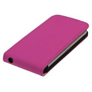König Smartphone Flip-case Galaxy S5 Mini Imitatieleer Roze