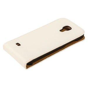 König Smartphone Flip-case Galaxy Note 4 Imitatieleer Wit