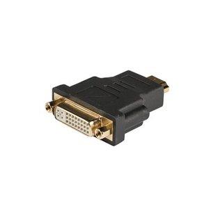 König High Speed HDMI Adapter HDMI-Connector - DVI-D 24+1-Pins Female Antraciet