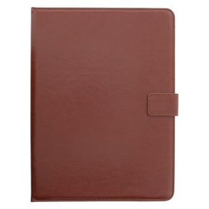 """König Tablet Folio-case 7-8"""" Imitatieleer Bruin"""