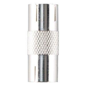 Bandridge Coax Adapter Coax Female (IEC) - Coax Female (IEC) Zilver