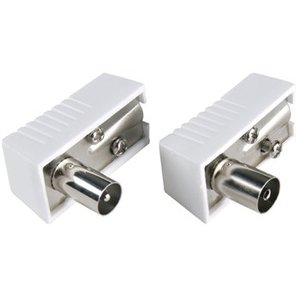 Bandridge Antenne Connector Kit Coax Wit
