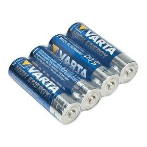 Varta Alkaline Batterij AA 1.5 V High Energy 4-Shrink Pack