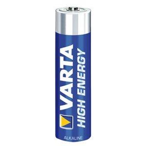 Varta Alkaline Batterij AAA 1.5 V High Energy 4-Blister