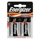 Energizer Alkaline Batterij D 1.5 V Power 2-Blister