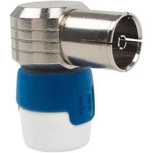 Hirschmann Coax Connector Female Metaal Zilver