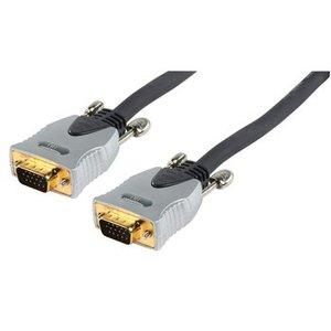 HQ VGA Kabel VGA Male - VGA Male 1.80 m Donkergrijs