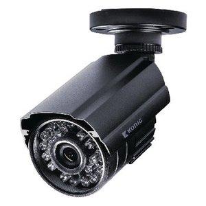 König Bullet Beveiligingscamera 700 TVL Zwart