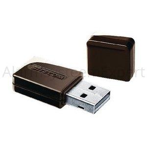 Sitecom Draadloze USB-Adapter N150 2.4 GHz Zwart / Metaal