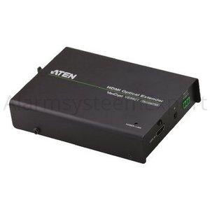Aten HDMI Verlenger HDMI-Ingang - HDMI-Uitgang Zwart