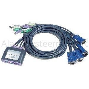 Aten Easy KVM-Switch 4-port VGA PS/2