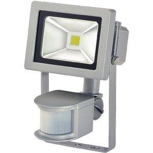 Brennenstuhl LED Floodlight met Sensor 10 W 700 lm Grijs