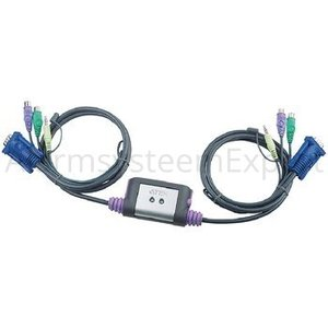 Aten Easy KVM-Switch 2-port VGA PS/2