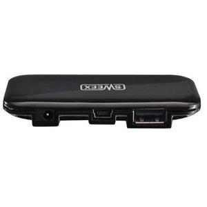 Sweex 4 Poorten Hub USB 2.0 Gevoed Zwart