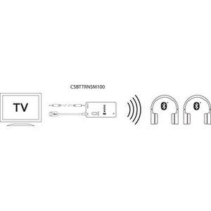 König Audio Transmitter Bluetooth 3.5 mm Zwart