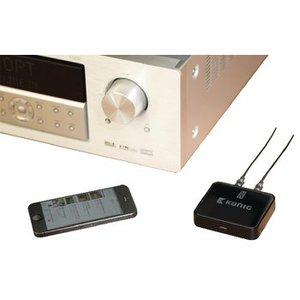 König Audio Receiver Advanced Bluetooth SPDIF Zwart