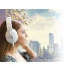 König Headset Over-Ear 3.5 mm Ingebouwde Microfoon Wit
