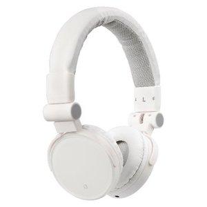 König Headset On-Ear 3.5 mm Bedraad Ingebouwde Microfoon Wit