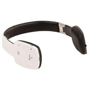 König Headset On-Ear Bluetooth Ingebouwde Microfoon Wit