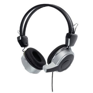König Headset On-Ear USB Bedraad Ingebouwde Microfoon Zwart