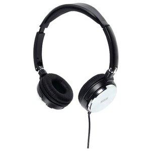 König Headset Opvouwbaar On-Ear 2x 3.5 mm Bedraad Ingebouwde Microfoon Zwart