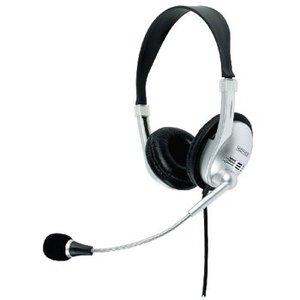 König Headset On-Ear 2x 3.5 mm Bedraad Ingebouwde Microfoon Zwart