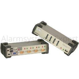 Aten 4-poorts USB 2.0 KVMP schakelaar met OSD