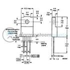 ST-MicroElectronics Transistor N-FET 800 VDC 5.2 A 30W 1.8E