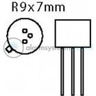 Fixapart Transistor SI-N 100 VDC 1 A 0.75 50MHz