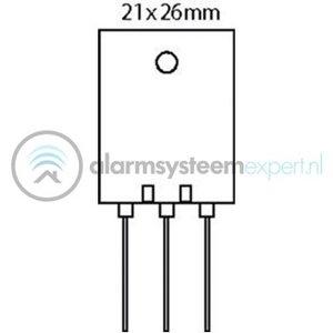 Toshiba Transistor SI-N 230 VDC 15 A 150W 30MHz