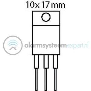 ST-MicroElectronics Thyristor 800 VDC 16 A TRIAC 100/50mA