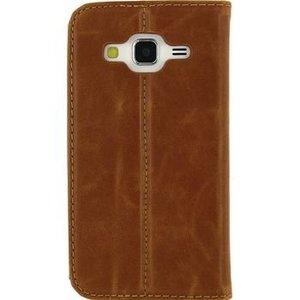 Mobilize Smartphone Premium Magnet Book Case Samsung Galaxy Core Prime / VE Bruin