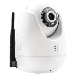 König Pan-Tilt IP-Camera Binnen VGA Wit