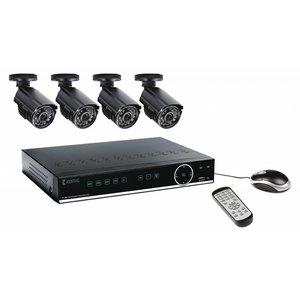 König CCTV Set HDD 500 GB / 700 TVL - 4x Camera