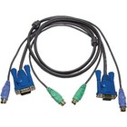 Aten KVM Kabel VGA Female 15-Pins / 2x PS/2-Connector - VGA Male / 2x PS/2-Connector 3.0 m