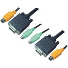 Aten KVM Kabel VGA Male / 2x PS/2-Connector / 2x 3.5 mm Male - VGA Male / 2x PS/2-Connector / 2x 3.5 mm Male 1.0 m