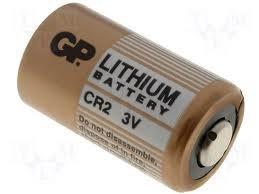Visonic batería de litio CR2 de 3 voltios