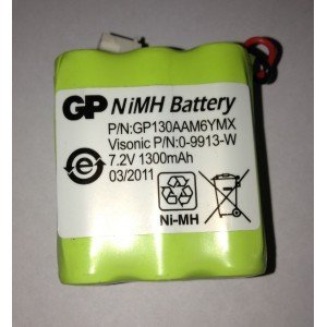 Batteria NiMH 7.2 V / 1.3 Ah per Powermax Plus